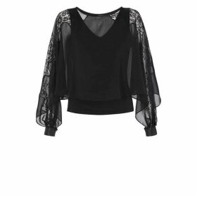 Coast Justine Lace Overlayer Top