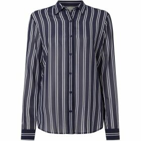 MICHAEL Michael Kors Striped straight shirt