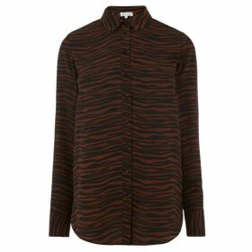 Warehouse Animal Print Shirt