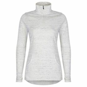 Cuddl Duds Long sleeve half zip top