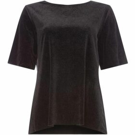 Label Lab Velvet shimmer tee