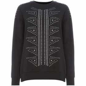 Label Lab All over stud detail sweat