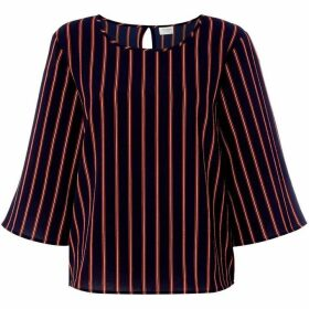 JDY Mid Sleeve Eva Striped Top