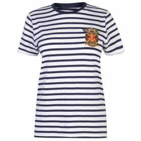 Polo Ralph Lauren Stripe Emblem Tee
