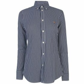 Polo Ralph Lauren Heidi Long Sleeve Stripe Shirt