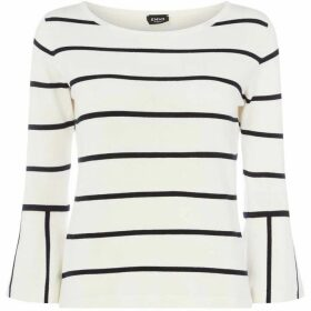 Emme Poldo flared cuff sweater