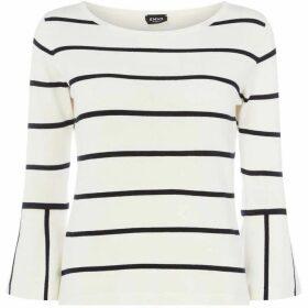 Emme Poldo flared cuff sweater