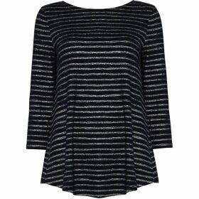 Phase Eight Shaine Shimmer Stripe Top