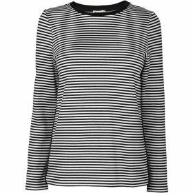 Whistles Stripe Bonded Sweat