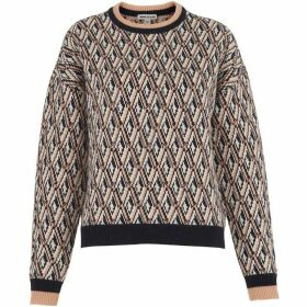 Whistles Britt Diamond Jacquard Sweater