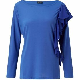 James Lakeland Side Ruffle Top