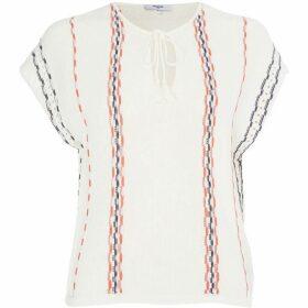 Suncoo Paquerette Short Sleeve Stripe Top