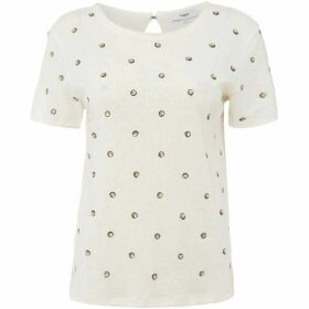Suncoo Matias Gold Polka Dot Top