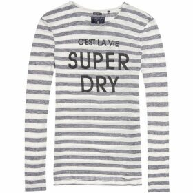 Superdry Nautical Step Hem Top