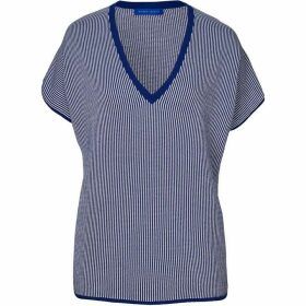 Winser London Cotton V Neck Coco Top