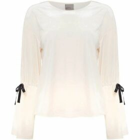Vero Moda Long sleeves crew neck top with sleeve details