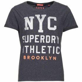 Superdry Worn Wash Boyfriend T-shirt