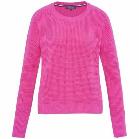 Tommy Hilfiger Galena Mixed Texture Crew-Neck Sweater
