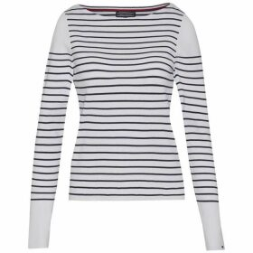 Tommy Hilfiger Gaila Stripe Boat-Neck Sweater