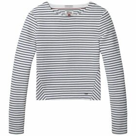 Tommy Jeans Stripe Long Sleeve Top