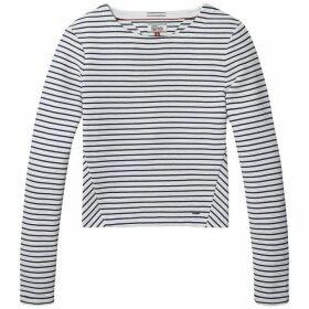 Tommy Jeans Stripe Long Sleeve Top