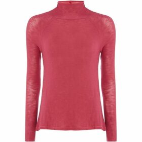 Free People Weekend Snuggle Roll Neck Top