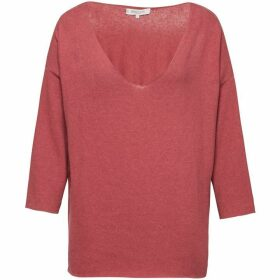 Great Plains Kitten Play V Neck Slouchy Top