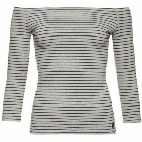Superdry Strip Bardot Top