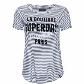 Superdry Parisian Stripe T-Shirt