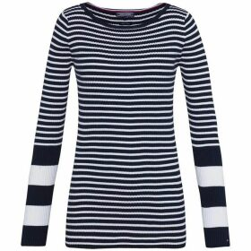 Tommy Hilfiger Ivy Rib Boat-Neck Sweater