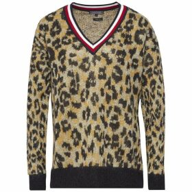 Tommy Hilfiger Akina Mohair V-Neck Sweater
