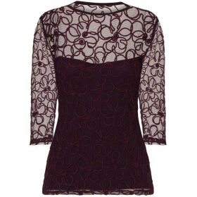 HotSquash Ribbon Flower Top with Thermal Lining