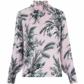 Whistles Wren Print High Neck Top