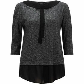 James Lakeland Metallic Bow Top