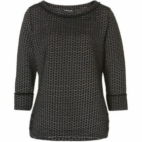 Betty Barclay Textured jersey sweat top