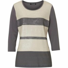 Betty Barclay Shimmer stripe top