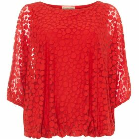 Phase Eight Sandra Spot Burnout Top