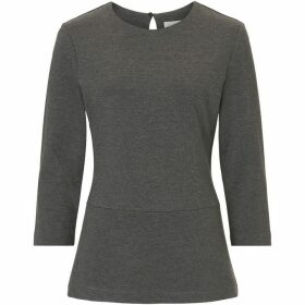 Betty Barclay Jersey top with flared hips