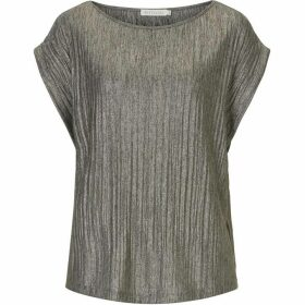 Betty Barclay Metallic pleated top