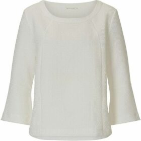 Betty Barclay Bell sleeved textured top