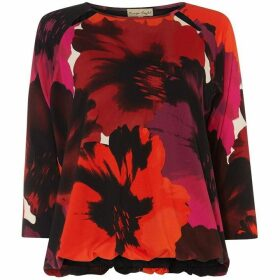 Phase Eight Fleur Floral Blouson Top
