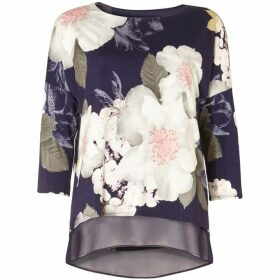Phase Eight Bertha Floral Print Top