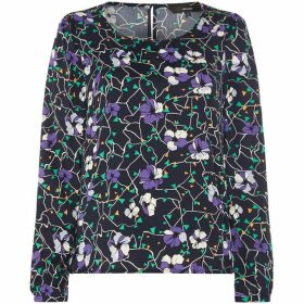 Vero Moda Isolde Long Sleeve Floral Print Top