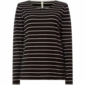 Maison De Nimes Long- Sleeve Jersey Stripe Top