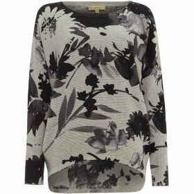 Phase Eight Dawne Daisy Print Knit Top