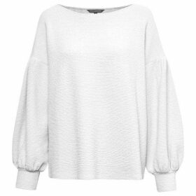 French Connection Ellen Textured Balloon Sleeve Sweater