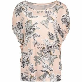 Betty Barclay Leaf Print Top