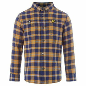 Lyle and Scott Heavy Check Flannel Shacket