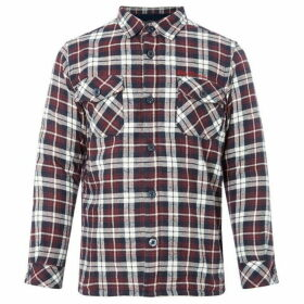 Ben Sherman Brushed Fleece Cotton Check Shirt