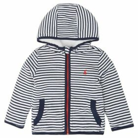 Little Joule James Striped Zip Thru Hoodie